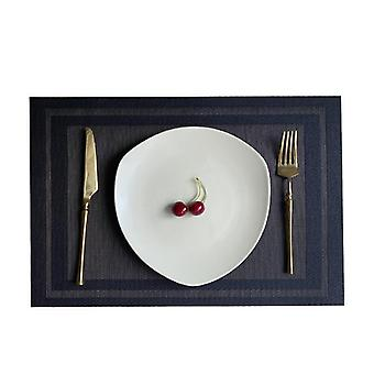 Dining table mat pvc place non-slip waterproof mats