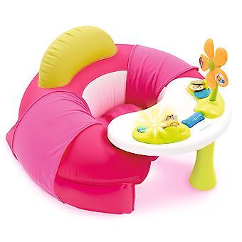 110211 - Cotoons Baby Sitz mit Activity Tisch, rosa