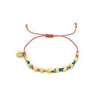 Boho betty angel stars multicoloured friendship bracelet