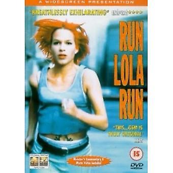 Run Lola Run DVD