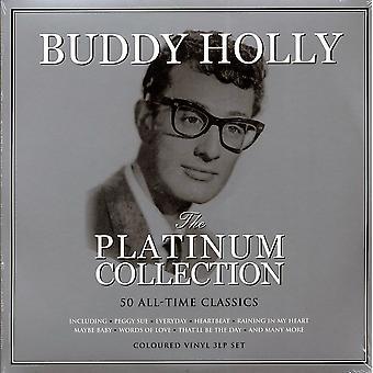 Buddy Holly - Platinasamlingen Vit Vinyl
