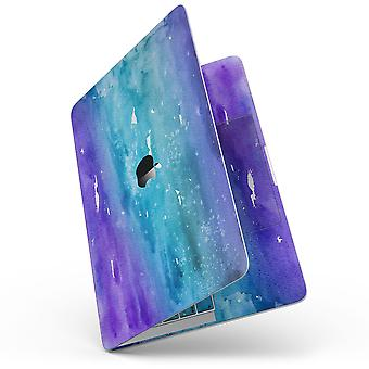 """Blue 823 Absorbed Watercolor Texture - 13"""" Macbook Pro Without Touch"""