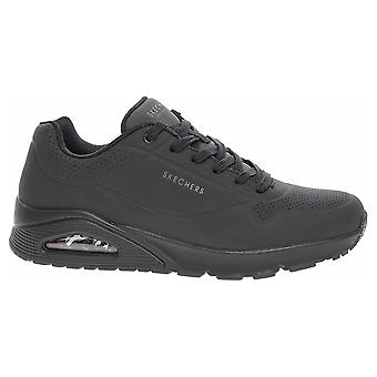 Skechers Uno Stand ON Air 52458BBK universal all year men shoes