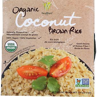 Healthee Rice Brwn Cocnt Micro Org, Case of 12 X 7.6 Oz