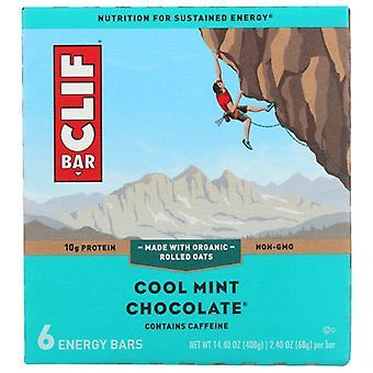 Clif Bar Mint Chocolate, Case of 6 X 14.4 Oz