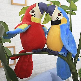 Sevimli Konuşan Elektronik Konuşan Papağan Peluş