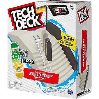 Tech Deck Bygg-En-Park World Tour Rampe Signatur Fingerboard Stiler Varierer