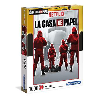 Clementoni La Casa de Papel 1 - Money Heist - Jigsaw Puzzle (1000 Pieces)