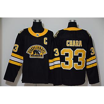 Men's Hockey Jerseys Bruins #37 Bergeron 88 Pastrnak 4 Orr Jersey Movie Ice Hockey Jersey 90s Hip Hop Clothing For Party Stitched Letters S-3xl