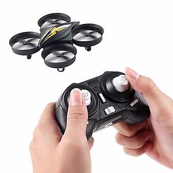 Mini Drone Quadcopter Rc helikopter akse Gyro hovedløs mode legetøj