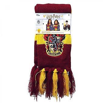 Rubinschal mit Harry Potter Gryffindor Wappen