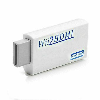 Portable Detect Wii Display Modes Wii To HDMI Converter For The Wii Console Wii2HDMI Full HD