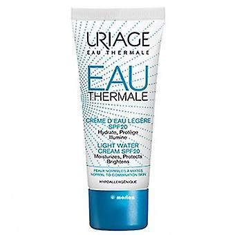 Uriage Light Water Cream Spf 20 with 40 ml