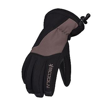 Men's And Women's Outdoor Elastic Fleece Warm Bicycle Riding Gloves Single Board Double Board Ski Gloves