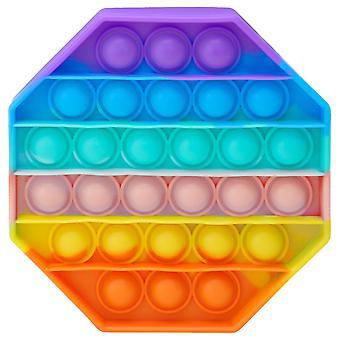 Pop It, Fidget Toy with Bubbles - Octagon