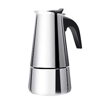 200/300/450Ml moka coffee pot espresso latte percolator stove coffee maker espresso pot percolator stainless steel coffee tools