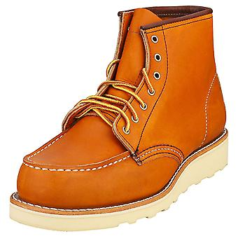 Red Wing 6-inch Moc Womens Classic Boots in Tan