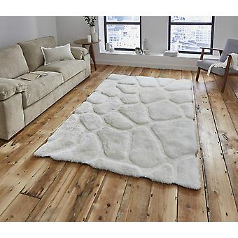 Noble House Pebbles 5858 Cream  Rectangle Rugs Plain/Nearly Plain Rugs