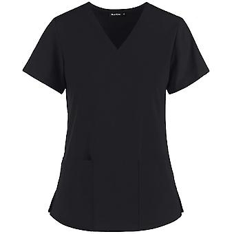 Enfermeira lidera casacos médicos de enfermagem esfrega camiseta feminina para odontólogo de verão