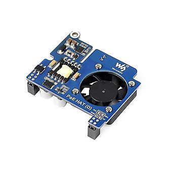 Motherboards waveshare power over ethernet hat type d for raspberry pi 3b+/4b  802.3Af-compliant  tailored for