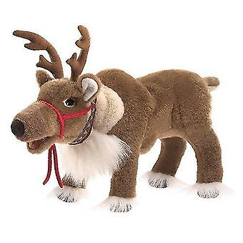 Puppets marionettes hand puppet - - reindeer toys soft doll plush 3121