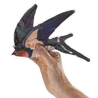 Puppets marionettes hand puppet - - swallow  barn toys soft doll plush 3140