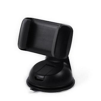Universal en el soporte del teléfono móvil del tablero de instrumentos Montaje de succión del parabrisas (negro + gris)