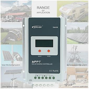 Mppt 30a Solar Charge Controller Battery Panel Regulator Automatic Conversion