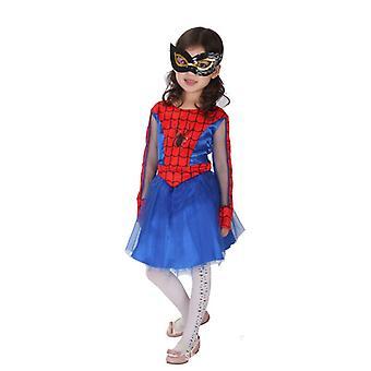 Dievčatá Spiderman Kostým Deti Halloween Cosplay Kostým Party Holiday Dekorácie