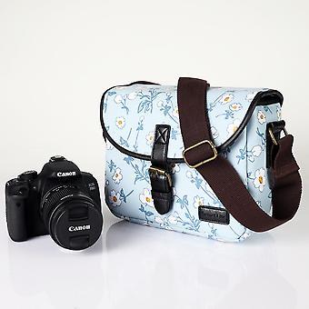 キヤノンEos Rp R R6 R5ニコンZ5 Z50ソニーパナソニックオリンパス富士フイルム屋外旅行ケースのための女性の写真カバーショルダーカメラバッグ