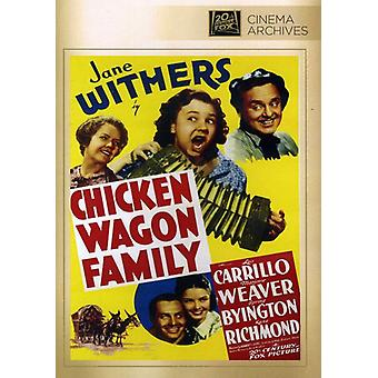 Chicken-Wagon Family [DVD] USA import