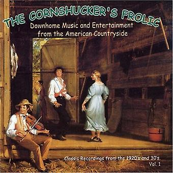 Cornhucker's Frolic - Cornhucker's Frolic: Vol. 1-Downhome Music & Entert [CD] USA import