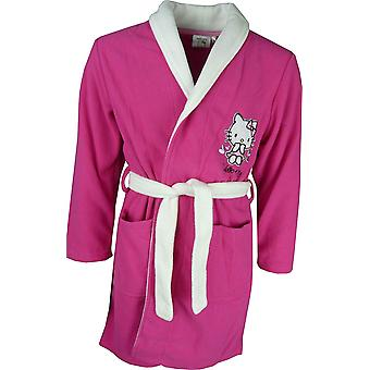 Girls Hello Kitty Dressing Gown / Bathrobe