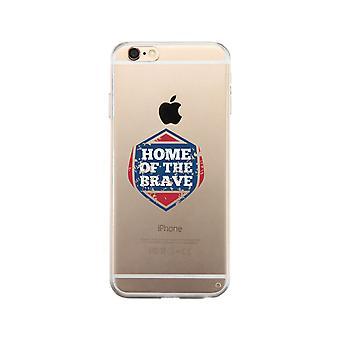 勇敢な明確な携帯電話ケースの家
