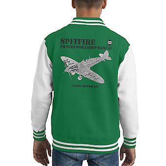 Varsity Jacket de l'enfant du Spitfire manuel atelier propriétaires Haynes