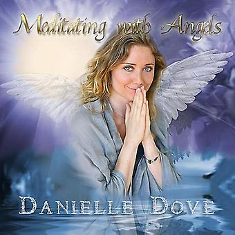 Danielle Dove - Meditating with Angels [CD] USA import