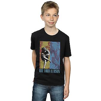 Guns N Roses Boys Double Illusion T-Shirt