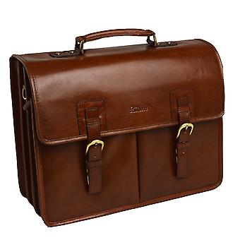 Ashwood Gareth Heavy Duty Leather Briefcase
