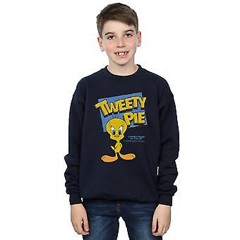 Looney Tunes Boys klassischen Tweety Pie Sweatshirt