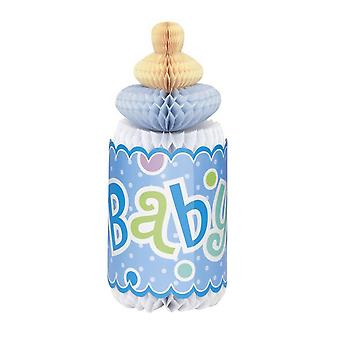 Unique Party Baby Shower Honeycomb Bottle Decoration
