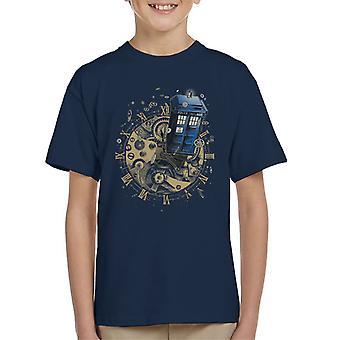 Doctor Who sehen Sie sich die Zeit Kinder T-Shirt