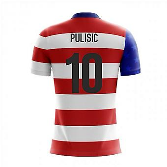 2020-2021 USA Airo Concept Home Shirt (Pulisic 10)