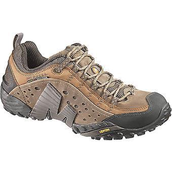 Merrell Mens Intercept Breathable Leather Sneaker Shoes