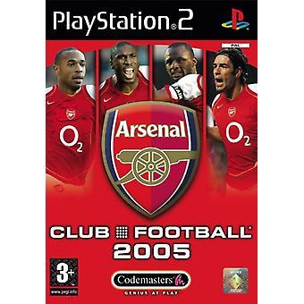 Club Football Arsenal 2005 (PS2) - Ny fabrik förseglad