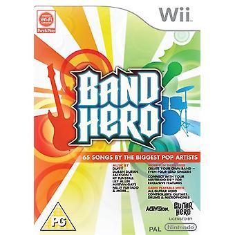 Band Hero - Jeu uniquement (Wii) - Nouveau