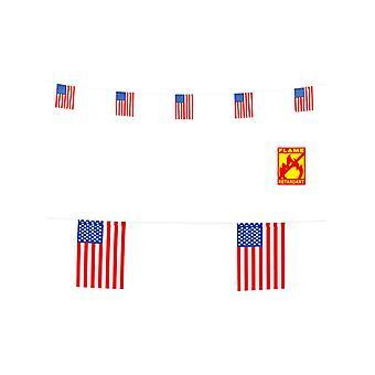 USA flagga krans 6M
