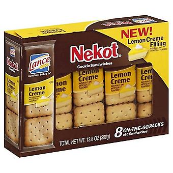 Lance Nekot Cookie Sandwiches Lemon Creme