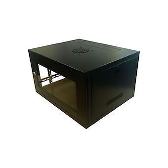 Dynamode LMS DATA 6U 19-Inch Wall Enclosure Network Cabinet (CAB-WFP-FE-6U450)