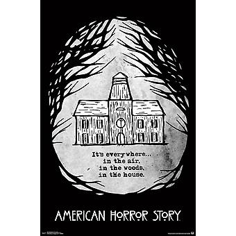 American Horror Story - dom Poster Print