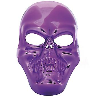 Kallo mask violetti skull pirate henki kauhu Halloween